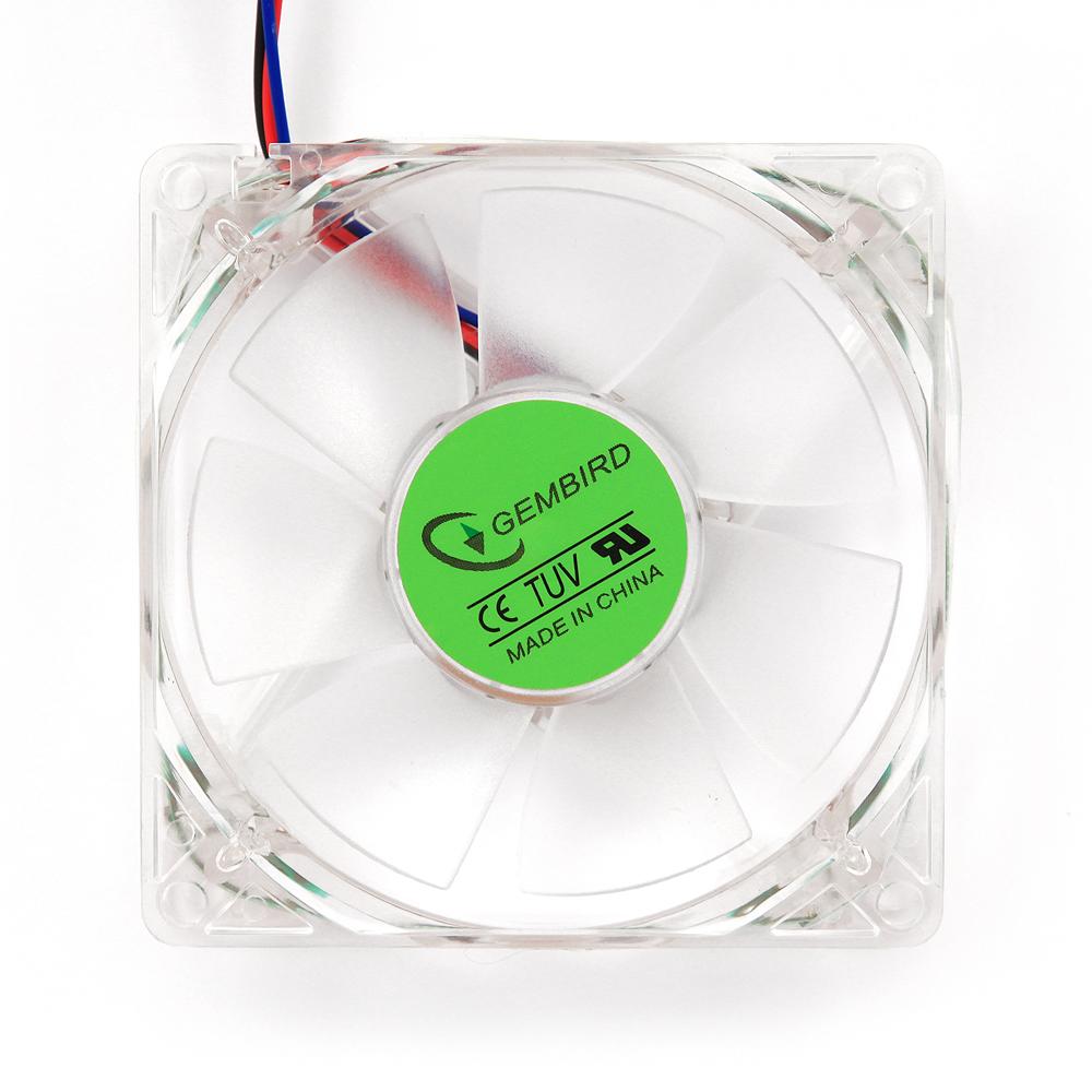 FANCASE-L5 Kleurrijke ventilatorvoor PC kast oranje