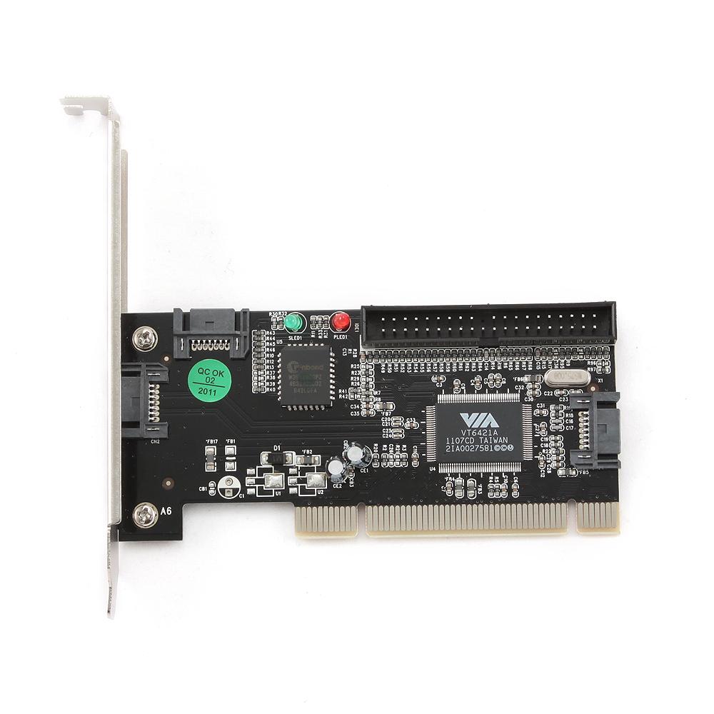 2-poorts SATA PCI               insteekkaart