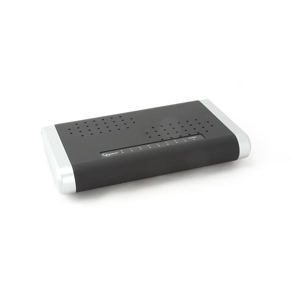 8-poorts desktop 10/100/1000    Mbps N-Way switch