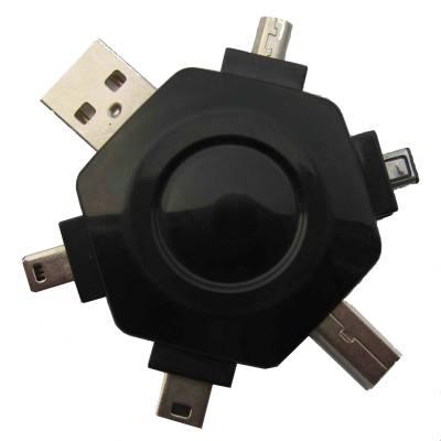 Universele USB adapter met      verschillende types