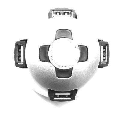 4-poorts USB-hub                'Sphere'