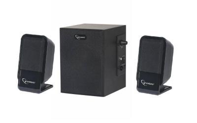 Desktop multimedia 2.1          speakerset, 10 watt. Model :