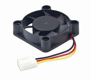 40x40x10mm ball bearing DC fan, 12 V, 70 mm cable