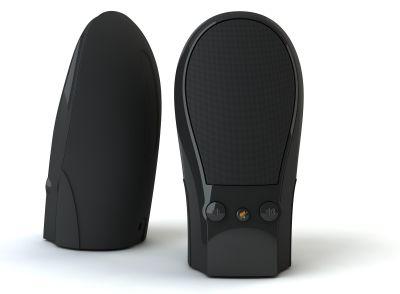 SPK502 USB interface 2.0 plasticluidsprekers 200W