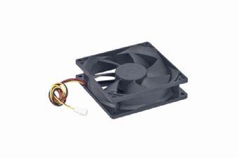 Cooler fan, 60x60x25 mm, sleeve bearing, medium speed, 3 pin