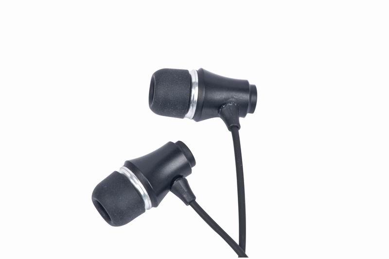 MP3 oortelefoon,                zwart