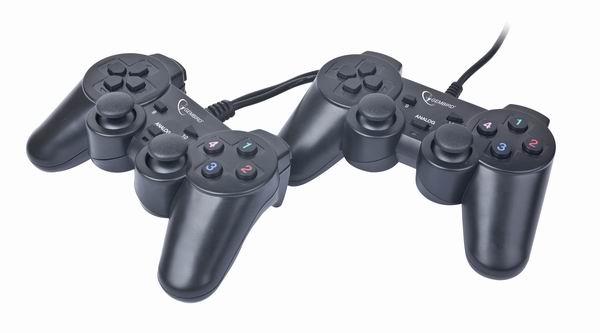 JPD-ST02 Duo-gamepad met        vibratie