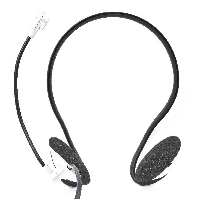 Stereo hoofdtelefoon met        volumeregeling